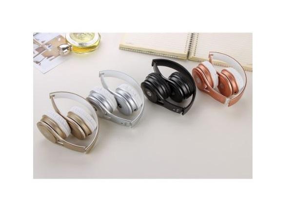 אוזניות חוטיות Gjby GJBY-22 Stereo Flexible Headband Explosive Bass Microphone Large Headphone Auricular Headset For iphone Android Phone