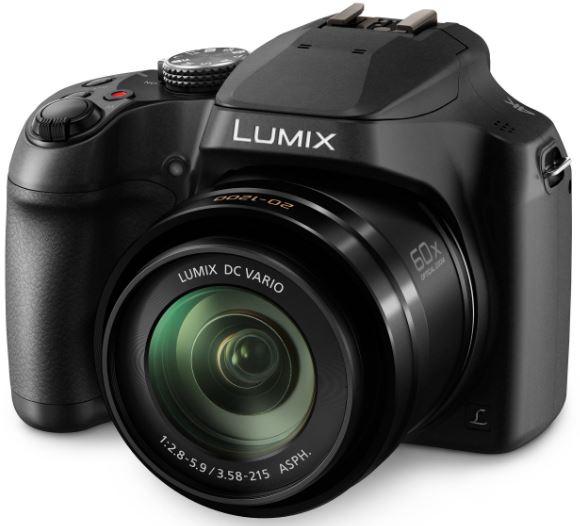 מצלמה דיגיטלית + וידאו פנסוניק PANASONIC LUMIX DC-FZ80 18.1 Mega Pixel 4K