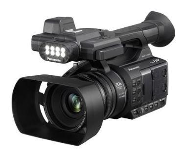מצלמה וידאו מקצועית פנסוניק עם מסך 3.1 אינץ' PANASONIC HC-PV100 6.03 Mega Pixel Full HD
