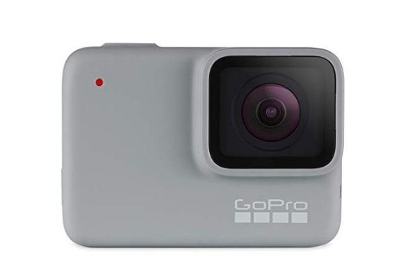 מצלמת אקסטרים אלחוטית מקצועית גו פרו לבן GOPRO HERO 7 WHITE — Waterproof Digital Action  Camera with Touch Screen 1080p HD Video 10MP Photos