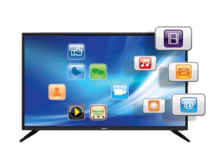 מסך טלוויזיה פוגי'קום Fujicom FJ-32U7 32'' HD HDMI Android 8