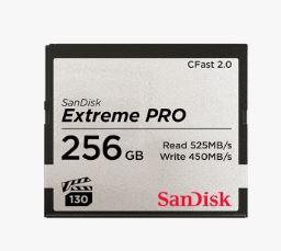 כרטיס זיכרון סאן דיסק SanDisk Extreme Pro CFAST 2.0 256GB 525MB/s VPG130