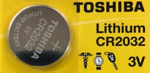 סוללה טושיבה ליתיום לא נטענת Toshiba CR2032 3V Lithium 1Pc
