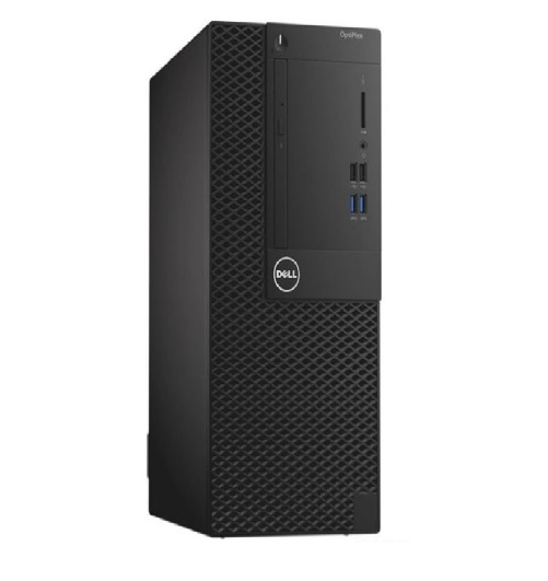 מחשב מותג שולחני דל Dell OPTIPLEX 3060 MT Intel Core i3-8100 3.60GHz 4GB RAM DDR4 1TB HDD DOS