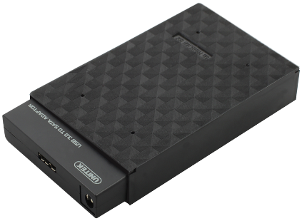 מארז חיצוני לדיסק קשיח 2.5 אינצ' Unitek Y-1039B USB3.0 to SATA Converter + 2.5'' HDD Protection Box