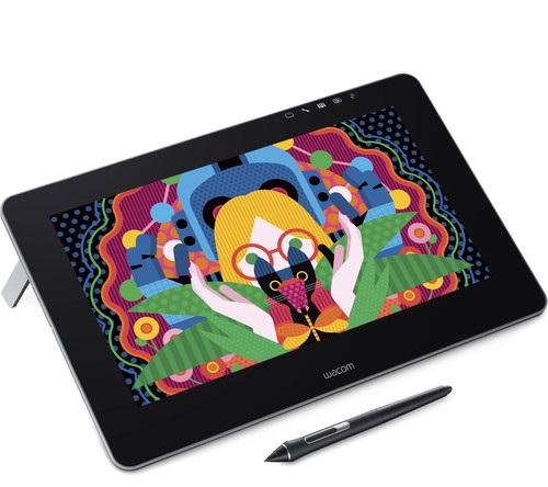 לוח כתיבה אלקטרוני מסך אינטראקטיבי Wacom DTH-1320A-EU Cintiq Pro 13 Full HD EU