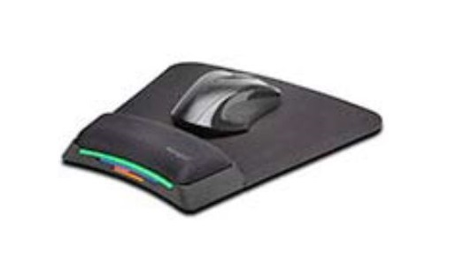 פד ארגונומי עכבר ו Kensington SmartFit Mouse Pad with Ergonomic Wrist Rest