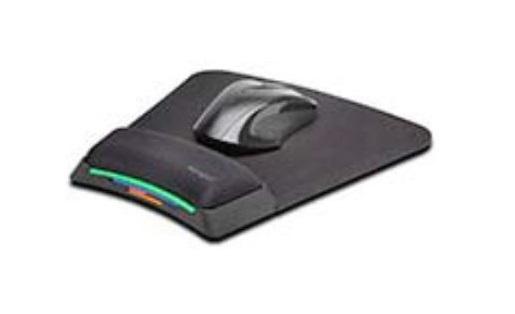 פד ארגונומי עכבר ו Kensington SmartFit Mouse Pad with Ergonomic Wrist Rest