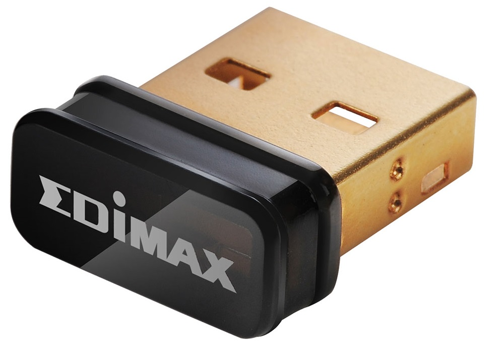 כרטיס רשת ננו אלחוטי אדימקס Edimax EW-7811Un N150 Wi-Fi Nano USB Adapter, Ideal for Raspberry Pi