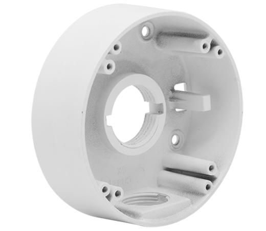 קופסת חיבורים למצלמת כיפה אנטי ונדלית קוטר Provision PR-B10BJB Junction Box 109mm For IP Cameras