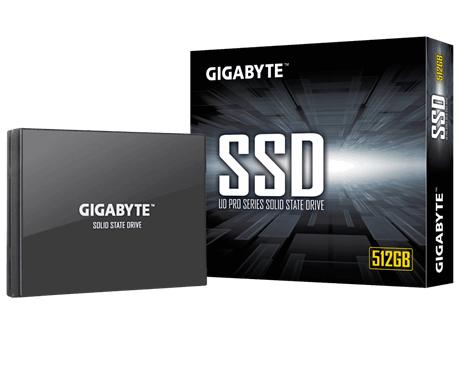 דיסק קשיח פלאש ג'יגהבייט Gigabyte GP-GSTFS30256GTND UD PRO 256GB SSD 2.5'' SATA3 read up to 530MB/s write up to 500MB/s
