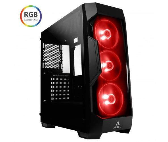 מחשב נייח לגיימרים ג'יגהבייט מעבד אינטל דור 9 Gigabyte Gigabyte Z390 M GAMING Intel Eight Core i7-9700K 4.9GHz SSD M.2 EVO 970 250GB + 2TB 16GB 3000MHz DDR4 Free Dos