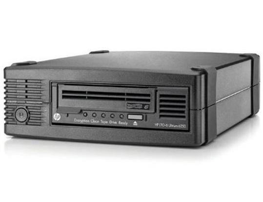 טיפ גיבוי חיצוני HP EH970A LTO-6 Ultrium 6250 External Tape Drive
