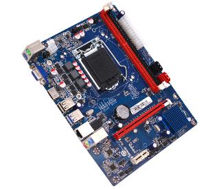 לוח אם AFOX H81-MA5 USB3.0 SATA3 VGA,HDMI Socket 1150 Intel H81