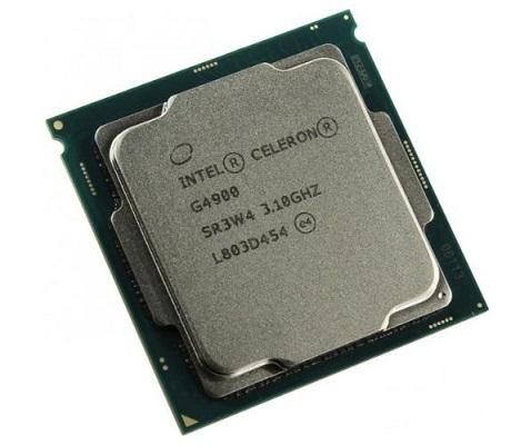 מעבד דור 8 אינטל סלרון 2 ליבות Intel Celeron G4900 3.1GHz 2MB LGA1151 2 Cores Tray
