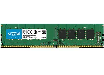 זכרון למחשב נייח Crucial CT4G4DFS8266 4GB DDR4 2666MHz