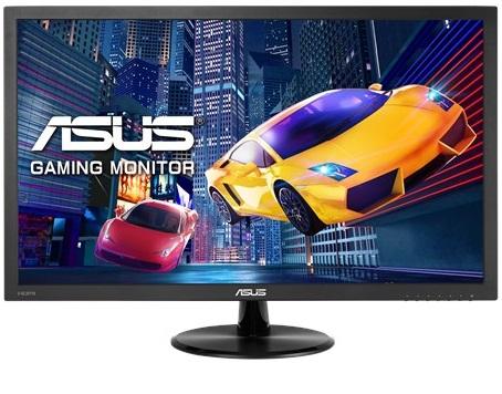 מסך מחשב אסוס לגיימרים דק רחב כולל רמקולים Asus VP278H 27'' Full HD 1ms 1:1000,000,000 VGA,HDMI
