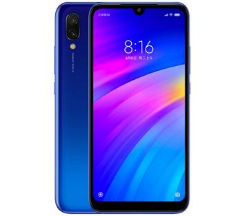 טלפון נייד סמארטפון שיאומי סלולארי כחול Xiaomi Redmi 7 32GB 6.26'' Full HD IPS 3GB RAM 32GB ROM Blue