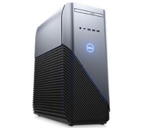 מחשב מותג שולחני דל לגיימרים Dell Inspiron 5680 Intel Six Core I5-8400 4.00GHz 8GB RAM 128GB SSD+1TB HDD N-vidia Geforce GTX1060 6GB Win10 Home