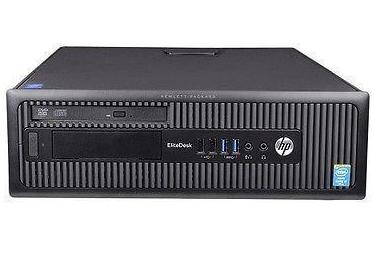 מחשב נייח מותג מחודש HP EliteDesk 800 G1 SFF Intel Quad Core i5-4570U 3.6GHz 8GB SSD 250GB + HDD 500GB Win 10 Pro