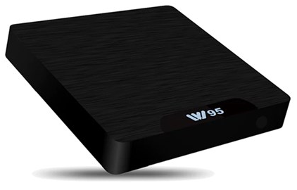 סטרימר משולב אנדרואיד Vision TV Box S905X Mini PC ARM Cortex-A53 Quad Core 2.0GHZ 2GB RAM 16GB HDD Android 7.1