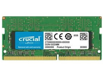 זכרון למחשב נייד Crucial CT4G4SFS8266 4GB DDR4 2666MHz CL19 1.2V