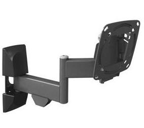 זרוע ברקן 4 תנועות סיבוב בקיר, קיפול, סיבוב במסך והטייה עד 29'' barkan E140