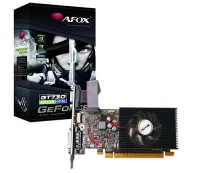 כרטיס מסך AFOX N-Vidia Geforce AF710-2048D3L7-V1 GT 710 2GB DDR3 64bit Low Profile Bracket PCIe VGA,DVI,HDMI