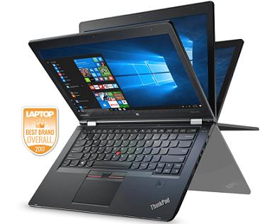מחשב נייד מחודש מסך מגע לנובו Lenovo ThinkPad Yoga 460 Laptop Intel® Core i7-6600 3.4GHz 14'' Full HD 8GB RAM 240GB SSD Win10 Pro