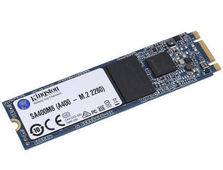 דיסק קשיח פלאש קינגסטון Kingston A400M SA400M8/120G SSD M.2 120GB SATA3 read up to 500MB/s write up to 320MB/s