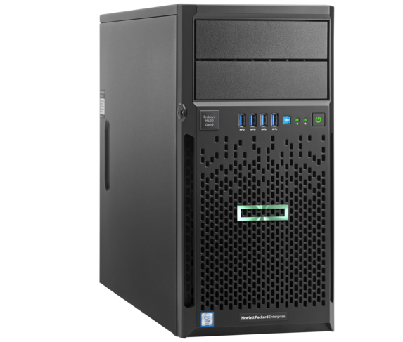 שרת לעסקים קטנים HPE ML30 P06781-425 Gen10 Intel XEON Quad Core E-2124 4.3GHz 8M Cach 8GB RAM DDR4 2x1TB HDD Free Dos