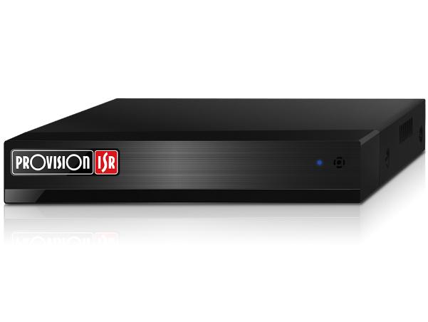 מערכת הקלטה היברידית פרוויז'ן עצמאית ל-6 מצלמות Provision SH-4050A5-5L(MM) 5MP Lite Real Time 1TB DVR 4Port AHD + 2Port IP Over Network Standalone HDMI