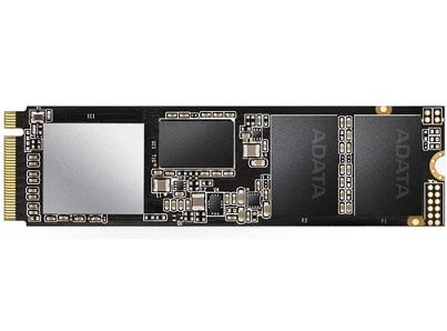 זיכרון פלאש ADATA XPG SSD SX8200 Pro - ASX8200PNP-256GT-C 256GB SSD M.2 NVMe read up to 3500MB/s write up to 3000/s PCIe3.0 x 4