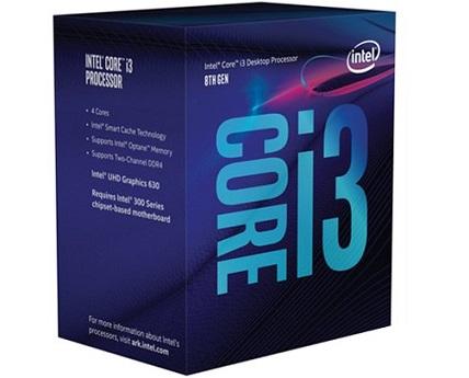מעבד דור 9 אינטל 4 ליבות ללא גרפיקה Intel Core i3-9100F 3.6GHZ up to 4.2GHz 6MB LGA 1151 4 Cores v2 Box
