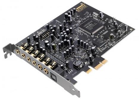 כרטיס קול פנימי קריאטיב 7.1 ערוצים כולל יציאה אופטית CREATIVE Sound Blaster Audigy RX 7.1 PCI Express