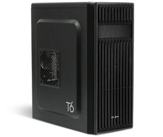 מארז מחשב לגיימרים ללא ספק שחור זלמן Zalman T6 ATX Mid Tower Case Black