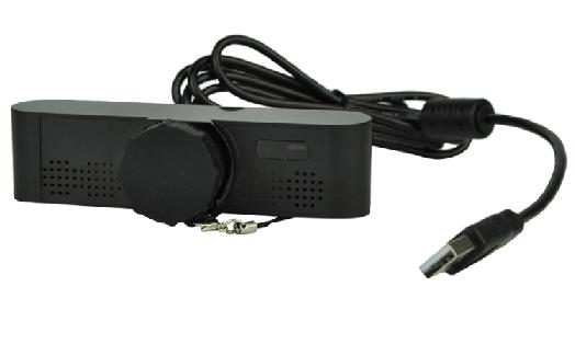 מצלמה מקצועית לשיחות ועידה ומיקרופון מובנה VHD J1702C 1080P Full HD USB Camera and Mic for Video Conferencing