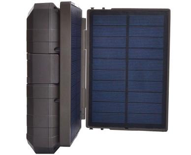 סוללה נטענת + פאנל סולארי להטענת כל מכשיר עם מתח 5V