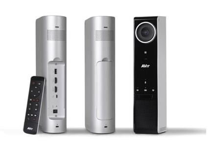 מצלמה ניידת מקצועית לשיחות ועידה הכל כלול AVer VC320 HDMI USB FullHD Bluetooth NFC