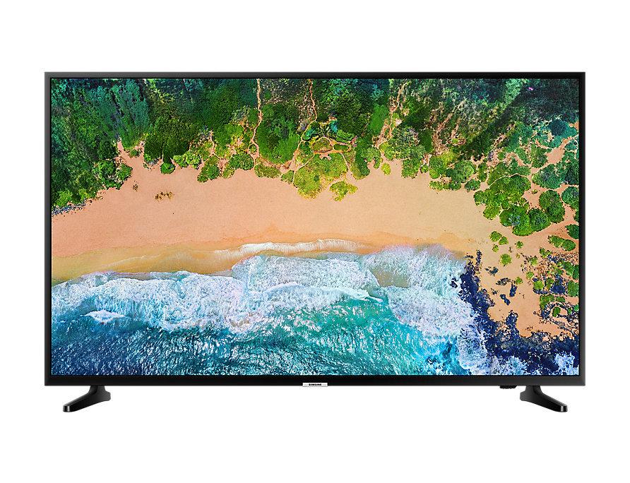 מסך טלוויזיה חכמה סמסונג דק רחב Samsung UE75NU7100 75'' UHD 4K   Smart TV NU7100 LED Flat Slim