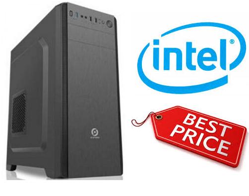 מחשב נייח ללא כרטיס גרפי מעבד אינטל דור 9 Gigabyte GA-B360M H Intel Quad Core i3-9100F 4.2GHz SSD 240GB 8GB DDR4 HDMI