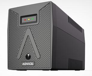 אל פסק אדוויס ליין אינראקטיב Advice Line Interactive AIN650-3 UPS USB 650VA/390Watt