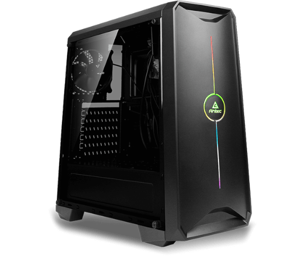 מחשב נייח לגיימרים ג'יגהבייט מעבד AMD רייזן סדרה Gigabyte GA-B450M S2H Antec NX200 Gaming Case AMD Eight Core Ryzen R7 3700X 4.4GHz SSD 500GB NVMe 16GB DDR4 G-Force N-Vidia GTX1650 4GB Free Dos 7