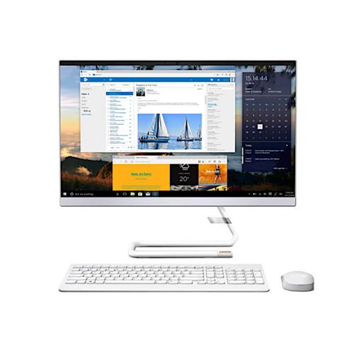מערכת מחשב לנובו אול אין וואן לבן Lenovo IP AIO 3 24IMB05 F0EU00FMIV 23.8'' Full HD Intel Quad Core i5-10400T 3.6Ghz 16GB RAM DDR4 256GB SSD NVMe AMD Radeon 625 2G Win 10 Home White