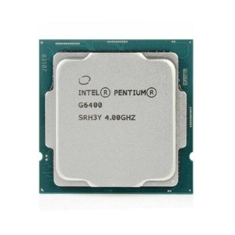 מעבד אינטל פנטיום גולד Intel Pentium Gold G6400 BOX LGA1200 2CRS 4Thrd 4GHZ BX80701G6400