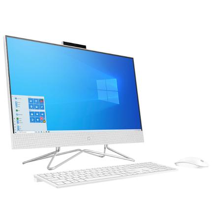 מערכת מחשב אול אין וואן לבן HP All In One 2K0Q1EA#ABT  23.8'' Full HD Intel Core i3-10100T 3.8GHz 8GB RAM DDR4 SSD 512GB NVMe SSD Windows 10 Home White