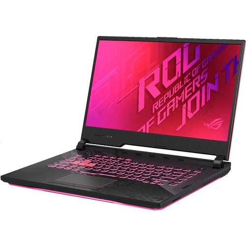 מחשב נייד לגיימרים כולל תיק אסוס Asus ROG STRIX G15 G512LI-HN313 Gaming 15.6Inch Full HD 144Hz Intel Core i7-10870H 5.0GHz 16GB RAM 512GB SSD Nvidia GTX 1650Ti 4GB Free DOS