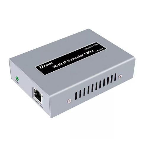 מאריך HDMI על גבי כבל רשת DTECH HDMI-EX120-OTM-R HDMI Extender OTO/OTM 120m Receiver