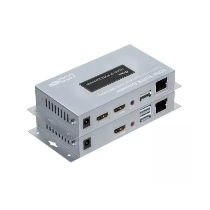 מאריך HDMI על גבי כבל רשת DTECH HDMI-150KVM-OTM-R HDMI Extender OTO/OTM 150m Receiver With IR