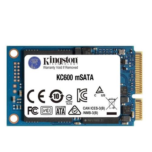 דיסק קשיח פלאש למחשב נייד קינגסטון Kingston SKC600MS/256G 256GB mSATA SATA 3 read up to 550MB/s write up to 520MB/s